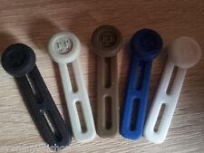 4 Stück 4 Farben Set Silikon Bunderweiterung  Hose Bund Hosenbund erweitern