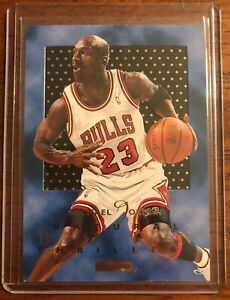 1995-96 Michael Jordan Skybox E-XL Natural Born Thrillers #1 Great Condition