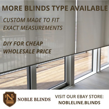 High Quality Roller Blinds DIY (Premium Sunscreen) Custom Made to Fit