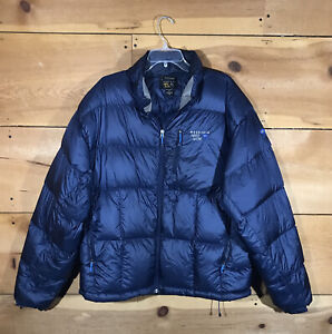 Mountain Hardwear Quilted Puffer Goose Down Jacket Coat Mens Size XL