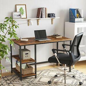 VASAGLE Bureau Informatique Table d'étude Table d'Ordinadeur pour Bureau LWD47X