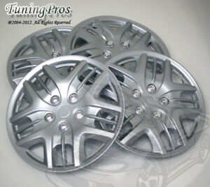 """4pcs Wheel Cover Rim Skin Covers 15"""" Inch, Style 025 15 Inches Hubcap Hub Caps"""