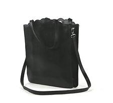 Furla Damen Handtasche Tragetasche schwarz Leder Sammlungsauflösung