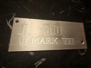 Lincoln Mark 7 5.0 custom aluminum intake manifold plate plaque GT40 Mk VII