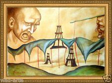 "Oil Painting Original 24x18"" Russian Fine Artist by Pronkin Surealism"