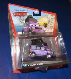 Disney Pixar Cars Diescast KIMURA KAIZO Deluxe Card #11 RARE BNIP NEW
