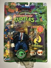 TMNT Universal Monsters The Invisible Man Mike 1994 Michaelangelo New Sealed