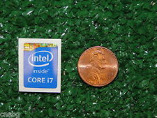 NEW! Intel HASWELL CORE i7 Sticker Label Case Badge Logo. USA Seller!