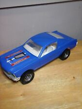 TootsieToy Vintage 1965 Ford Mustang G.T. 350  Fastback - USA - Blue