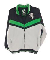 Ecko Unltd Mens Full Zip Jacket Coat Black White Green Size XL