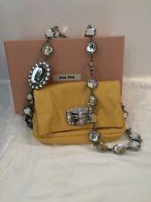 MIU MIU Napa Cristal leather handbag!!!! Stunning!!!! Rare!!!!