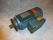 Sew Eurodrive DFT80K812BMG05HR Electric Motor With Brake .65/.95HP 810/3285RPM