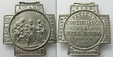 Collectable 19th Century Religious Medal - Award Of Merit