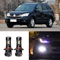 2x Canbus H11 3030 21SMD LED DRL Daytime Running Fog Lights Bulbs For Honda CRV