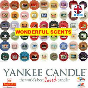 YANKEE CANDLE Wax Tarts Melts Range  -  Mix and Match Wonderful Scents