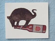 Beer Temporary Tattoo Sticker ~ LONE STAR ~ Ft Worth, TEXAS ~ Armadillo & Bottle