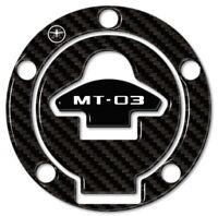 ADESIVO 3D PROTEZIONE TAPPO SERBATOIO MOTO compatibile YAMAHA MT-03 2016-2019