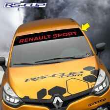 1237 Sticker RS PERFORMANCE RENAULT SPORT Clio Megane noir rouge megane clio