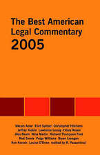 NEW The Best American Legal Commentary by Rosemary Passantino