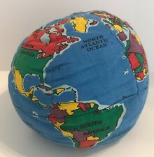 Hugg-A-Planet Earth Soft Globe Educational Learning Toy Plush Stuffed Small