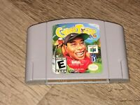 CyberTiger Nintendo 64 N64 Cleaned & Tested Authentic