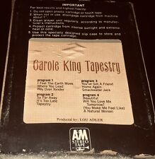 GAROLE KING TAPESTRY 8 Track- Fast Shipping World Wide!!!!