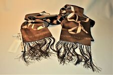 New w Tags Authentic VIKTOR & ROLF scarf  Silk 100% V & R  H & M logos
