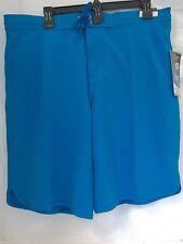 Roundtree & Yorke Swimwear Size L Large Turquoise New Mens Swimming Trunks