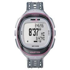 Timex Ironman Run Trainer Grau Rosa Damenuhr T5K629