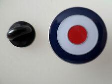 RAF ROUNDEL TARGET MOD - ENAMEL PIN BADGE
