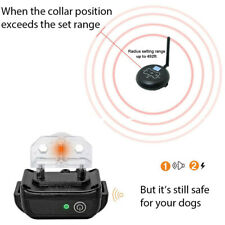 Wireless Electric Fence System Dog Training Shock Collars Pet Control