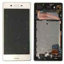 Sony écran LCD complet avec cadre pour Xperia X f5121 F5122 Blanc