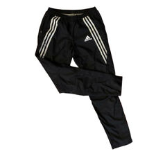 Adidas Black and White Nylon Wind Pants Size S