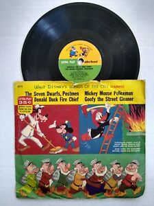 SD73 SONGS OF THE CITY Vintage Golden Records Disney 78 RPM Record