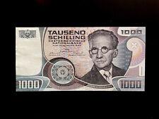 Österreich (P152) 1.000 Schilling 1983 XF/VF+