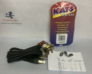 (PZ) Engine Block Heater 11415 KAT'S New NoPackage Free US Shipping