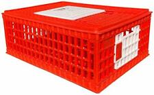 "Poultry Carrier Crate 29"" L x 22"" W x 12"" H for Chickens Set of 1"