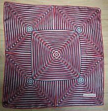 foulard Balanciaga vintage 65X65 soie très bon état marque tissé dans le foulard