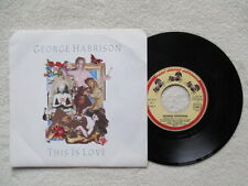 """45T 7"""" GEORGE HARRISON """"This is love"""" DARK HORSE RECORDS 927 913-7 FRANCE §"""