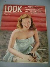 LOOK MAGAZINE JUNE 24 1947 BATHING SUITS ENGLAND IS DYING