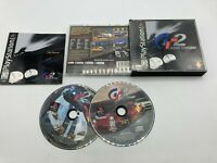 Sony PlayStation 1 PS1 CIB Complete Tested Gran Turismo 2 Black Label