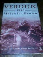Verdun, 1916 by Malcolm Brown (1999, Hardcover)