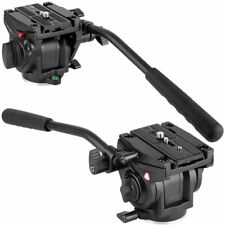 KINGJOY VT-3510 Video Camera Tripod Action Fluid Drag Head for DSLR Camera IB