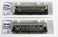 ROCO 45418, ROCO 45419, 2 plattormwagen K. BAY. STS. B. digitale ep.1, illuminazione LED