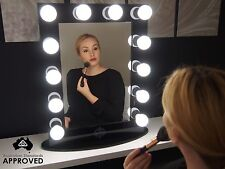Hollywood Makeup Mirror lights Vanity Lighted Theatre Beauty Accessories Black