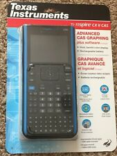 New TI-NSPIRE CX II CAS Advanced CAS Graphing Calculator w/ Software - Sealed!