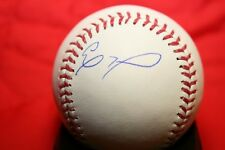 ELOY JIMENEZ AUTOGRAPHED SIGNED MAJOR LEAGUE BASEBALL OML CHICAGO WHITE SOX COA
