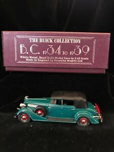 Boxed BROOKLIN Lansdowne BC8 1934 BUICK S90 Phaeton 98C Car Diecast Model 1/43