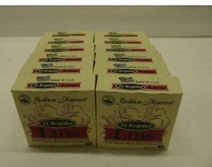 Golden Harvest Regular Mouth Canning Jar Lids 12 Packs of 12 Ball Mason 144