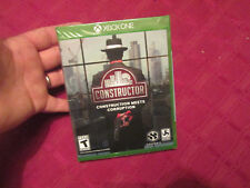 CONSTRUCTOR  CONSTRUCTION MEETS CORRUPTION XBOX ONE NEW US EDITION VERY RARE